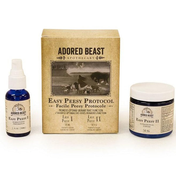 Adored Beast Easy Peesy Protocol (2 product kit) | Health | Adored Beast - Shop The Paws