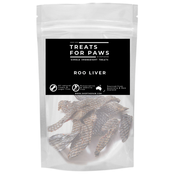 Treats For Paws - Roo Liver | Treats | TreatsForPaws - Shop The Paws