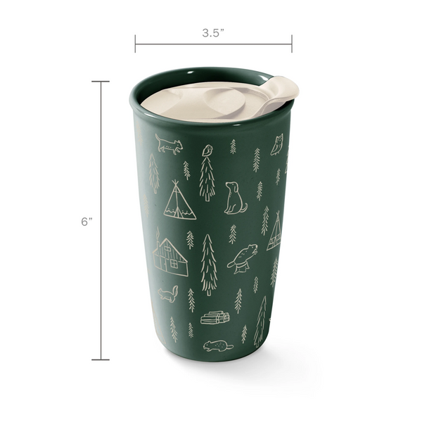 Fringe Studio Happy Camper Travel Mug
