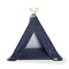 Fringe Studio Celestial Canvas Tee Pee | Bedding | Fringe Studio - Shop The Paws