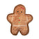 Fringe Studio Unstuffed Gingerbread Girl Dog Toy