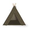 Fringe Studio Happy Camper Canvas Tee Pee | Bedding | Fringe Studio - Shop The Paws