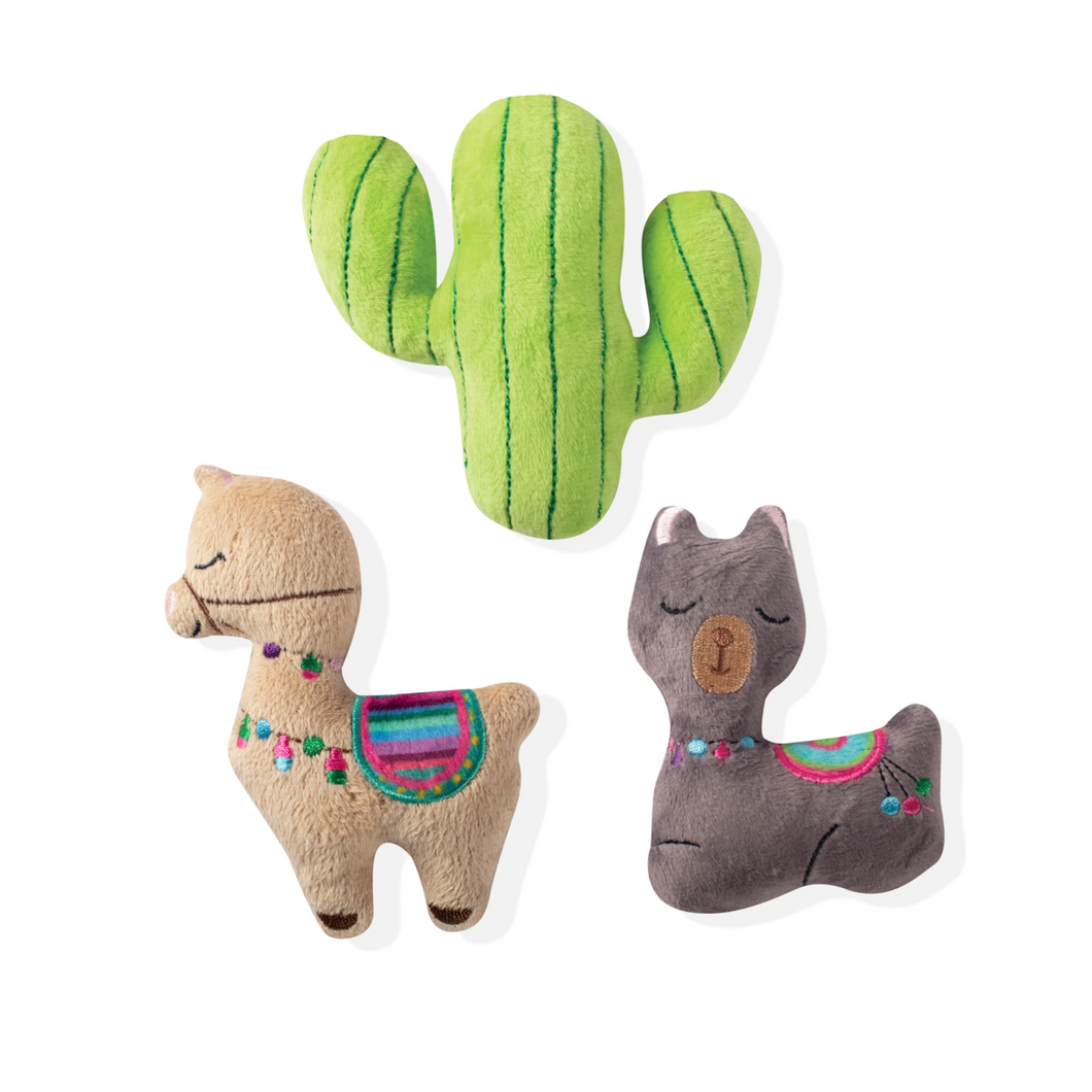 Fringe Studio Mini Llama Cactus - Toys - Fringe Studio - Shop The Paws