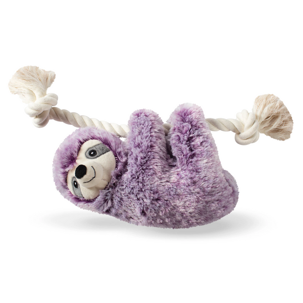 Fringe Studio Lavender Lily The Violet Sloth On A Rope