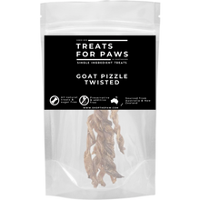 Load image into Gallery viewer, Treats For Paws - Goat Pizzle Braided | Treats | TreatsForPaws - Shop The Paws