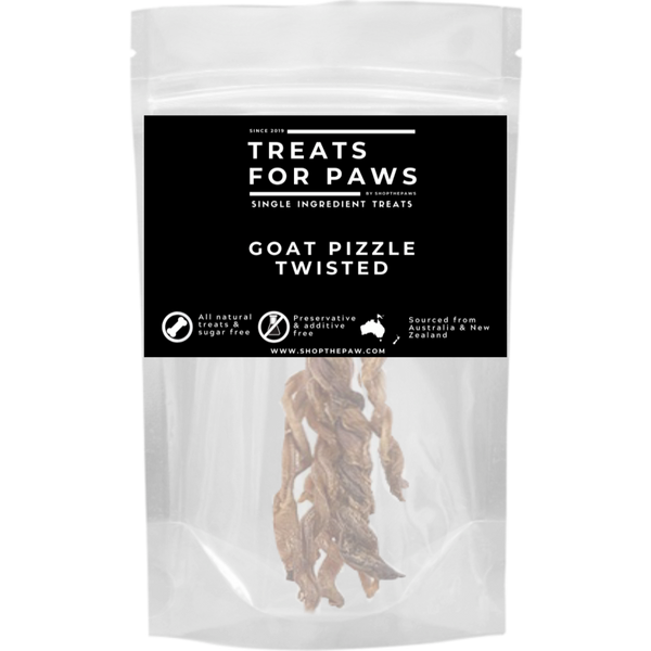 Treats For Paws - Goat Pizzle Braided