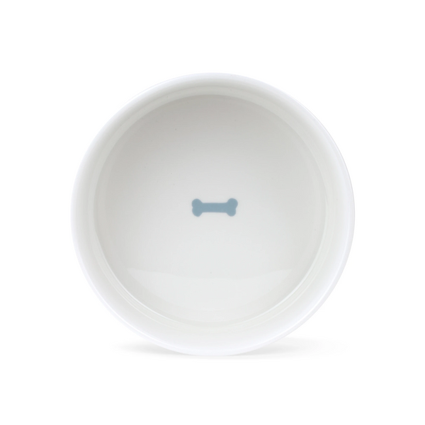 Fringe Studio Happy Breeds Ceramic Food Water Bowl
