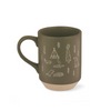 Fringe Studio Happy Camper Stonewear Mug - Human - Fringe Studio - Shop The Paws