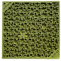 Sodapup - Jigsaw e-mat (Enrichment Licking Mat) - Green | Toys | Sodapup - Shop The Paws