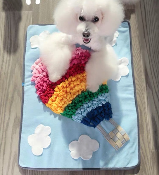 Shopthepaw - Snuffle Mat Rainbow Air Balloon | Toys | shopthepaw - Shop The Paws