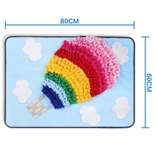 Load image into Gallery viewer, Snuffle Mat - Rainbow Air Balloon