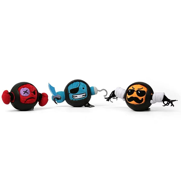 Q-monster Nylon Rubber Armour Plush Ball | Toys | Q-monster - Shop The Paws