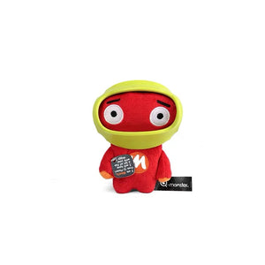 Q-monster Nylon Rubber Armour Plush Astronaut