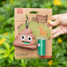 Load image into Gallery viewer, FOFOS Emoji Poop Bag