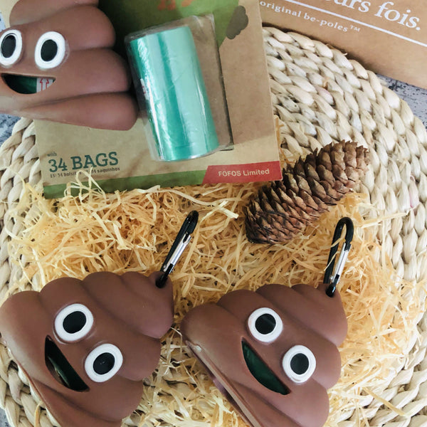 FOFOS Emoji Poop Bag | Accessories | shopthepaw - Shop The Paws