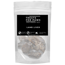 Load image into Gallery viewer, Treats For Paws - Lamb Liver | Treats | TreatsForPaws - Shop The Paws