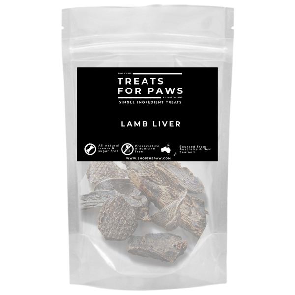 Treats For Paws - Lamb Liver | Treats | TreatsForPaws - Shop The Paws