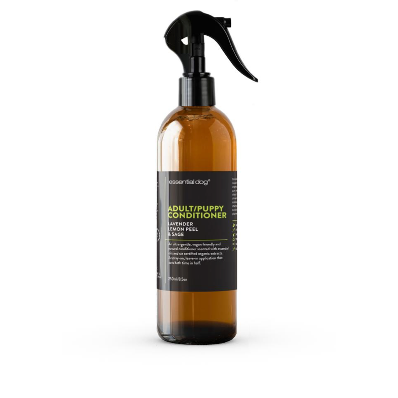 Essential Dog Adult/Puppy Conditioner : Lavender, Lemon Peel, and Clary Sage | Grooming | Essential Dog - Shop The Paws