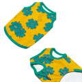 andblank® Lucky Clover Sleeveless Shirt - Mustard | Clothing | andblank - Shop The Paws