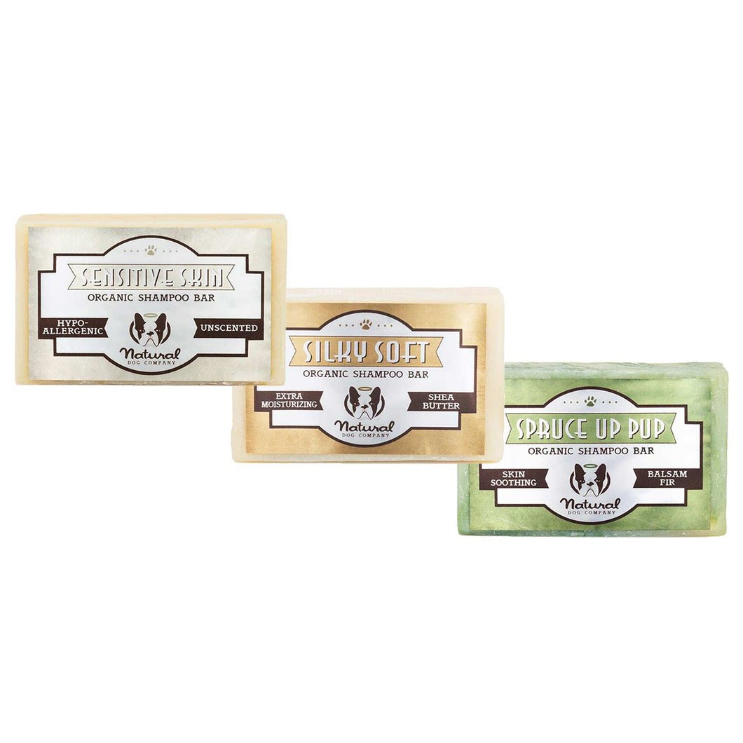 Natural Dog Company - Organic Shampoo Bars - Grooming - Natural Dog Company - Shop The Paws