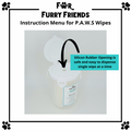 For Furry Friends Pet's Activated Water Sanitizer (P.A.W.S) Wipes | Grooming | For Furry Friends - Shop The Paws