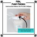 For Furry Friends Pet's Activated Water Sanitizer (P.A.W.S) Wipes Refill Packs | Grooming | For Furry Friends - Shop The Paws