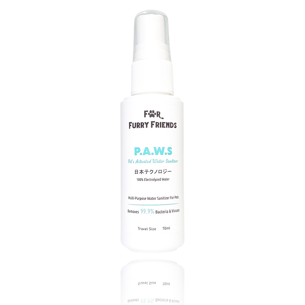 For Furry Friends Pet's Activated Water Sanitizer (P.A.W.S) | Grooming | For Furry Friends - Shop The Paws