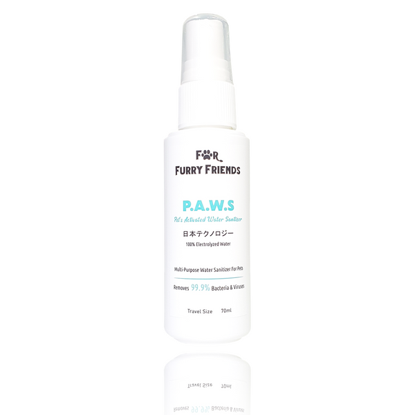 For Furry Friends Pet's Activated Water Sanitizer (P.A.W.S)