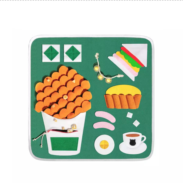 Snuffle Mat - Happy Breakfast