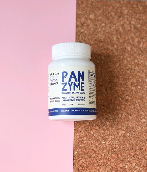 Dom & Cleo Organics Panzyme Supplement (60 Gelcaps)