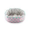 Ohpopdog - Heritage Reversible Bed Bibik Pink 14 | Bedding | Ohpopdog - Shop The Paws