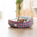 Ohpopdog - Heritage Reversible Bed Royal Blue 150 | Bedding | Ohpopdog - Shop The Paws