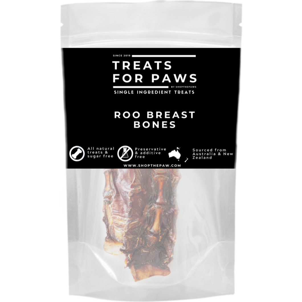 Treats For Paws - Roo Breast Bone (Sternums)
