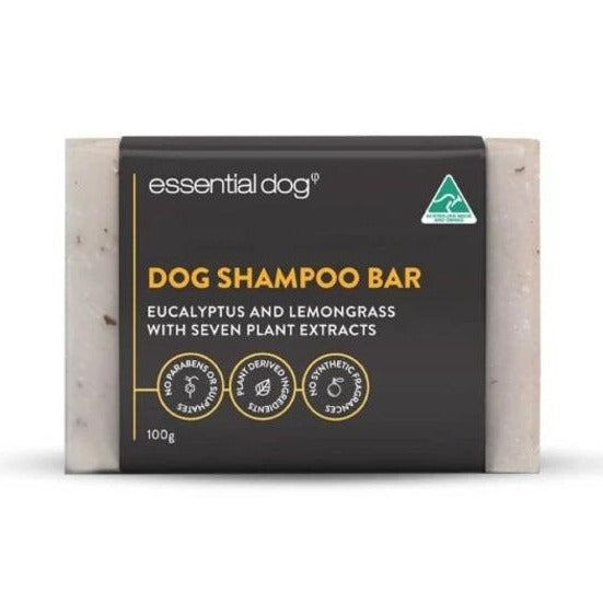 Essential Dog Neem Seed, Lemongrass and Eucalyptus Soap Bar | Grooming | Essential Dog - Shop The Paws