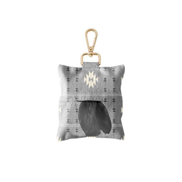 Fringe Studio Tribal Gray Dog Waste Bag Dispenser