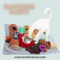 ShopThePaw - Raccoon Party Snuffle Mat | Toys | shopthepaw - Shop The Paws