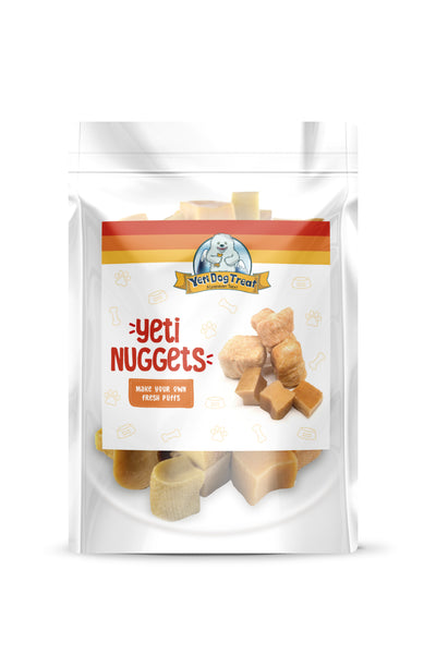 Yeti Dog Treat Cheese Nuggets (6-8 pieces)