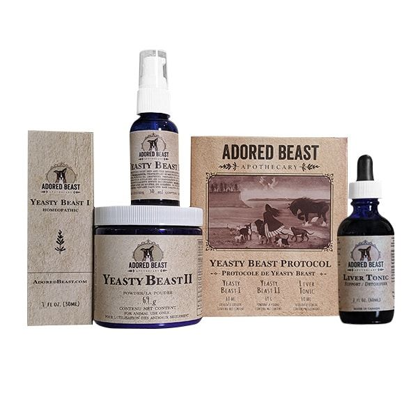 Adored Beast Yeasty Beast Protocol ( 3 Product Kit) - for dogs only | Health | Adored Beast - Shop The Paws