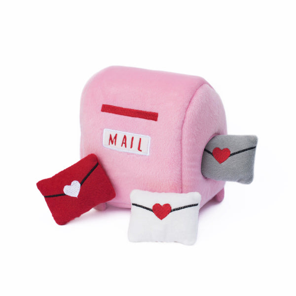 ZippyPaws Burrow Mailbox and Love Letters | Toys | ZippyPaws - Shop The Paws