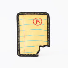 Load image into Gallery viewer, ZippyPaws Z-Stitch® Yellow Notepad | Toys | ZippyPaws - Shop The Paws
