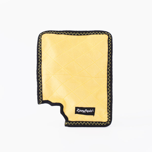 ZippyPaws Z-Stitch® Yellow Notepad