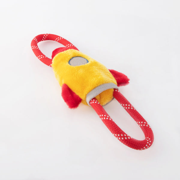 ZippyPaws RopeTugz® - Spaceship - Toys - ZippyPaws - Shop The Paws