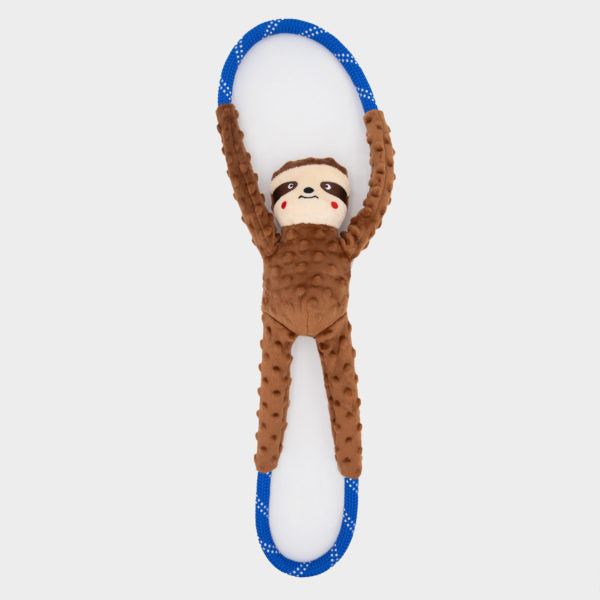ZippyPaws RopeTugz® - Sloth | Toys | ZippyPaws - Shop The Paws