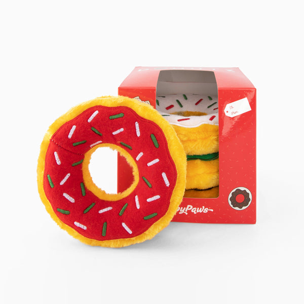 ZippyPaws Holiday Holiday Donutz Gift Box | Toys | ZippyPaws - Shop The Paws
