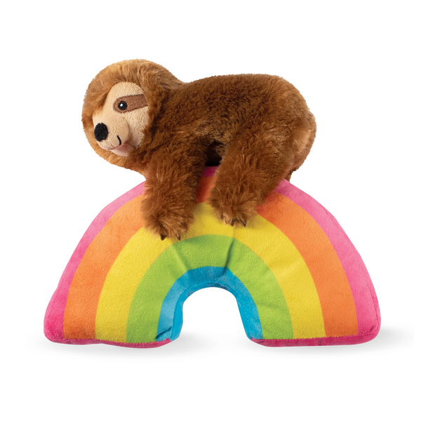 Fringe Studio Ziggy Sloth on a Rainbow