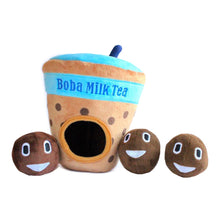 Load image into Gallery viewer, Boba Milk Tea Burrow Dog Toy | Toys | shopthepaw - Shop The Paws