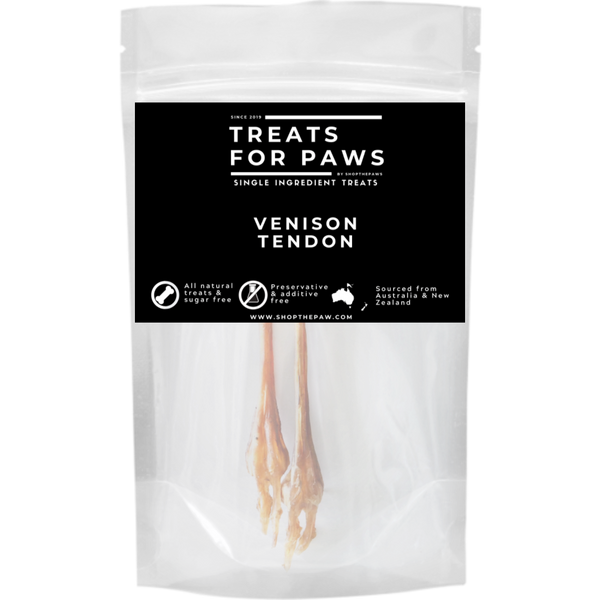 Treats For Paws - Venison Tendons | Treats | TreatsForPaws - Shop The Paws