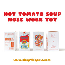 Load image into Gallery viewer, Shopthepaw - Tomato Soup Nose Work | Toys | shopthepaw - Shop The Paws
