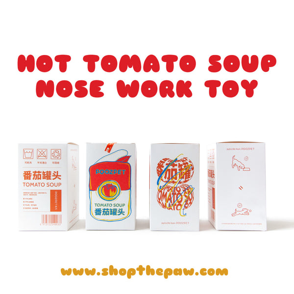 Tomato Soup Nose Work