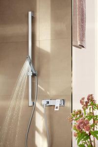 EUPHORIA CUBE+ Stick Shower Rail Set 1 Spray, Chrome